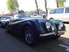1953 Jaguar XK120 Roadster (Skitmeister) Tags: am4918 carsport 2018 nederland skitmeister holland netherlands