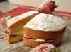 Cake Anyone? (jrharding444) Tags: red strawberry wood cake cream jam victoria sponge icing sugar british
