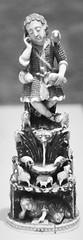 6Q3A8700 (www.ilkkajukarainen.fi) Tags: lontoo va vamuseum museum musèe museet museo london antique antiikki old story history happy life visit travel traveling ivory hand made käsityö christ good shepard hyvä paimen blackandwhite mustavalkoinen monochrome mourning mary srilanka luu