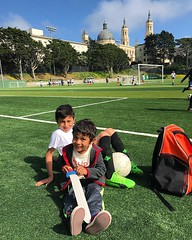 Fourth Soccer Tryout for the Weekend, with Little Bro for Support (davitydave) Tags: instagram ifttt sanfrancisco usf universityofsanfrancisco soccer brother m z son kid kids child children