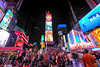 Busy Times Square in New York City (` Toshio ') Tags: toshio nyc newyorkcity manhattan newyork neon people crowds tourists city night fujixt2 xt2 restaurant shops store