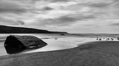 Love Rocks.. (EYeardley) Tags: barmouth coast welshcoast beach seaside ocean sea sky bw monochrome le longexposure slowshutter nikon nikond3300 d3300 10stopnd hoya