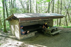 Cherry Gap Shelter (greer82496) Tags: cherry gap shelter appalachian