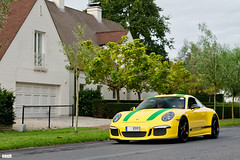 A spec in homage to Senna? (GtCh) Tags: porsche 911 r 911r 991 porsche911 porsche911r yellow green zoute grand prix gt tour zoutegrandprix gttour 2017 knokke belgium black hypercar hypercars supercar supercars sportscar exotic exoticcar exotics luxurycar dreamcar luxury car automotive automobile beautiful superb gorgeous magnificent awesome insane crazy rare design style fast powerful ferrari lamborghini bugatti audi bmw mercedes voiture rally rallye gt3 touring gt3rs gt2rs 918 spyder 918spyder nikon d5500 nikond5500