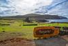 Ahu Tongariki / Аху Тонгарики (Vladimir Zhdanov) Tags: travel chile polynesia rapanui easterisland ocean sky cloud sun water wave landscape nature ahutongariki moai sculpture grass