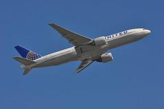 UA0879 LHR-IAH (A380spotter) Tags: takeoff departure climb climbout belly boeing 777 200er n78001 ship0001 gordonmbethune operatedbycala014a united unitedairlinesinc ual ua ua0879 lhriah runway09r 09r london heathrow egll lhr