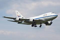 Boeing 747SP-21 - N747NA - HAJ - 15.05.2018(1) (Matthias Schichta) Tags: haj hannover hannoverlangenhagen eddv boeing nasa 747sp sofia plane planespotting flugzeugbilder flugzeug n747na