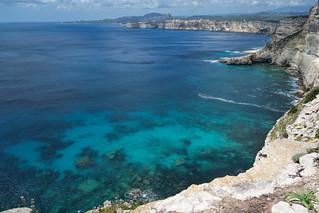 Les falaises de Bonifacio !
