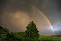 Dramatic Sky (DSC02343_1600_L3.2) (Horst Beutler) Tags: sky dramaticsky clouds rainbow regenbogen himmel wolken sonyilce7m2 pentacon30mmf35 manualfocuslens vintagelens m42mount copyrighthorstbeutlerphotography