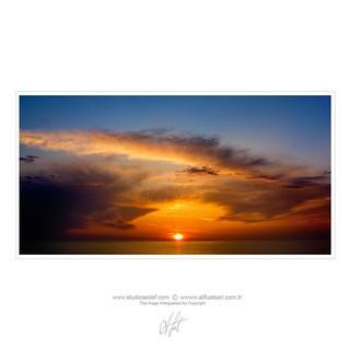 Bir başka batar Çayelimde güneş // Another Beautiful Sunset at Çayeli // Ein weiterer schöner Sonnenuntergang in Çayeli // آخر غروب الشمس الجميل �ي جايلي