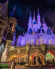Cinderella Castle | Walt Disney World (Pandry 2015) Tags: teamcanon canondslr canon6d castles mykissimmee colors family outdoors sky waltdisneyworldresort disneyresorts themeparks themepark disneyparks disneyphotography nightphotography longexposure cinderellacastle cinderella fantasyland florida orlando magickingdom disneyworld waltdisneyworld wdw