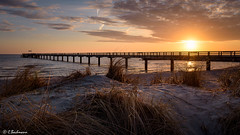 Seebrücke Schönberger Strand (Germany) (bachmann_chr) Tags: seebrücke strand küste ostsee schleswigholstein coast sonnenaufgang beach sunrise deutschland germany sightseeing nikon d750