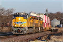 UP 3069 (Justin Hardecopf) Tags: up unionpacific 3069 emd sd70ah sd70acet4 tier 4 intermodal k stack arlington nebraska railroad train
