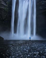 Skógafoss Selfie (Jay Daley) Tags: iceland waterfall longexposure sony landscape selfie