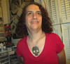 20170928 1840 - electrolysis - Clio - 27401884 (Clio CJS) Tags: 20170928 201709 2017 electrolysis electrolysis20170928 chin standing jewelry necklace skull skullnecklace shirt pinkshirt virginia alexandria clioandcarolynshouse bathroom clio
