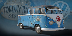 Tommy Ray - Early 60's VW Transporter Double Cabin Pickup (Brad Harding Photography) Tags: vw mokanvwclub volkswagen volkswagenbus pickup truck utility 1960s hippie tommyraydesigns weston volksweston missouri classic vintage antique germanmade restored restoration