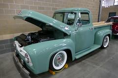 1955 Ford F100 (bballchico) Tags: 1955 ford f100 northwestrodarama carshow lisaperala stevenordburg