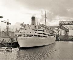 SS Southern Cross (Lost-Albion) Tags: southerncross shawsavillalbionline liner belfast 1958