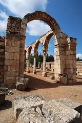 Ancient City of Anjar (h0n3yb33z) Tags: anjar lebanon unesco umayyad ruins roman byzantine