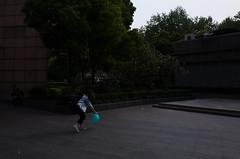 Nameless (Spontaneousnap) Tags: spontaneousnap street shanghai china city like candid documentary people publicareas lifestyle 上海 ricohgr takeabreak afternoon asia balloon tiffanyblue