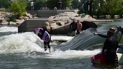 River Surfing Fail (10 sec video) (maytag97) Tags: maytag97 nikon d750 video outdoor boise idaho river water surf surfing sport fun board whitewater park fitness adventure action recreation leisure summer people young active lifestyle white wave surfer concentration balance
