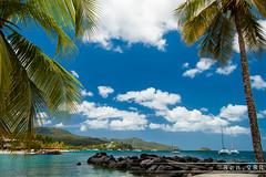 Martinique - Les Trois Îlets (Ben.2BR) Tags: bluesky cloudy fwi les3ïlets lestroisilets martinique paysage seafront lestroisîlets lemarin mq