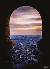 Beautiful View (NikonWonders) Tags: paris eiffeltower france europe destination travel travelphotography sunset evening summer city cityscape landscape geographic cityview wonder love sky color theme dark arch photography nikon nikond750 24120mm flickr weekend art artistic special nikonlove travellove solo solotrip lens camera world beautiful