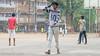 Mumbai-fb-32.jpg (Karl Becker Photography) Tags: india mumbai nikon football boy youngman shirtless sports