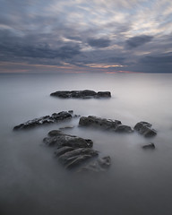Consuming (Peter Henry Photography) Tags: water sea rocks tide coast sunset colour longexposure sky minimalist minimal landscape seascape nikon tamron 1530mm wideangle leefilters nisifilters