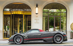 Pagani Zonda F Roadster (JayRao) Tags: hypercar paris jayr nikon d610 nikkor 50mm france carbonfiber pagani zonda roadster amg v12