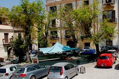 Ristorante all'aperto....L'arte di arrangiarsi!!!! (dona(bluesea)) Tags: palermo sicilia sicily