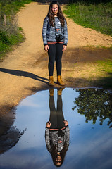 Twin Reflection 883 (_Rjc9666_) Tags: algarve colors girl individuals ines nikond5100 outdoor people pessoas reflection tamron70200f28 water ©ruijorge9666 2141 883