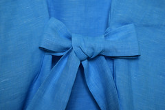 The Bow (adelina_tr) Tags: turquoise lifeisarainbow detail bow texture textile nikond5300