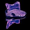 Jagged Sea Glass (roseysnapper) Tags: heliconfocus macromondays nikkor105mmmicrof28 nikond810 silverefexpro20 blackbackground closeup focusstack naturallight seaglass splittoning squarecrop squareformat windowlight lightroom photoshop jagged
