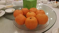 Oranges (Terry Hassan) Tags: hongkong 香港 orange 橙 fruit citrus goodluck chinesenewyear meal restaurant