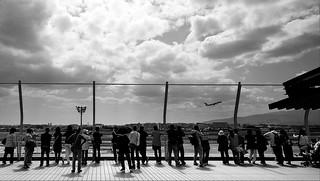 a rooftop observation platform