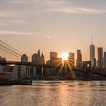 Manhattan Skyline & the Brooklyn Bridge thumbnail