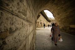 an old woman (tuncay demirbilek) Tags: architecture arch building city cami camii ceiling fatih golden horn haliç halic istanbul mosque people turkey türkiye turkiye eminönü sirkeci yeni