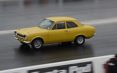 Escort_8703 (Fast an' Bulbous) Tags: drag race car track fast speed power acceleration panning nikon motorsport santapod