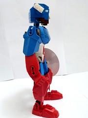 Captain America (Cѳpnfl) Tags: lego moc bionicle ccbs marvel comics superheroes captainamerica