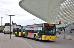 5706 3 (brossel 8260) Tags: belgique bus tec liege