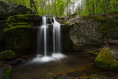 Splitting Drops in Virginia (Ken Krach Photography) Tags: appleorchardfalls virginia