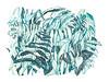 Tiger (Sharon Farrow) Tags: tiger animal wildanimal nature naturalworld plants wild ferns blues turquoise pattern hidden decorative mixedmedia paint pencil pen crayon cat jungle illustration illustrator illustratedanimals animalillustration sharonfarrow