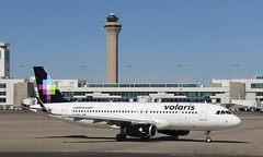 Volaris (Treflyn) Tags: airbus a320 320 a320200 xavra mexican airline volaris runway denver international airport flight mexico city