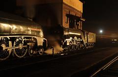 GWS 73972 (kgvuk) Tags: gws didcot didcotrailwaycentre unionofsouthafrica 60009 a4 pacific 462 steam locomotive engine train railway lner br britishrailways flyingscotsman 60103 a3 4472 nightphotography