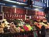 I Fancy Something Hot (tcees) Tags: greatmarkethall vámházkrt13 budapest hungary pest urban x100 fujifilm finepix fruitveg stall market woman paprikapeppers peppers paprika garlic streetphotography street food