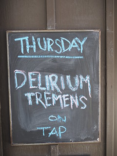 a pub door -somewhere in Toronto-no thank you :-)