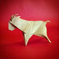 Ariete - Luigi Leonardi (Stefano Borroni (Stia)) Tags: ariete zodiaco paper carta piegarelacarta origamilove cdoitalia art animali natura montone ovini papiroflexia leonardi origami origamiart animals