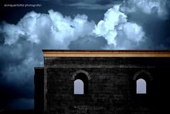 Salento (Ecinquantotto ( + 1.500.000 views !!! GRAZIE) Tags: architettura architecture colori clouds colors d3000 dreams nikon nikond3000 nuvole pioggia salento puglia italia italy muro