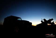 Set Up at Sunset (1300 Photography) Tags: nikon affinity d750 20mm jeep nightphotography nightsky nightshots car suv